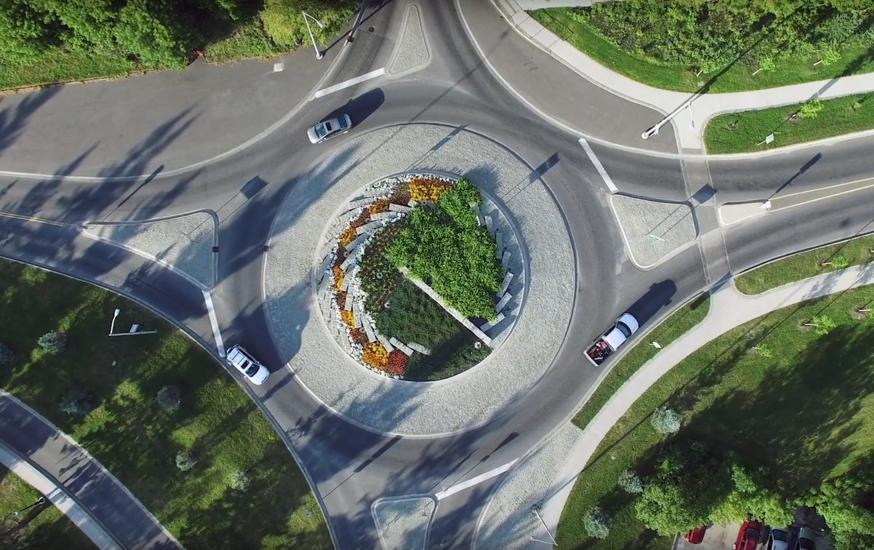 Screenshot of Kenora roundabout